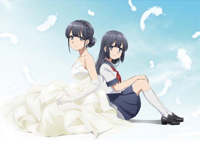 《青春野郎》剧场版海报公开,翔子小姐的婚纱装太美了!