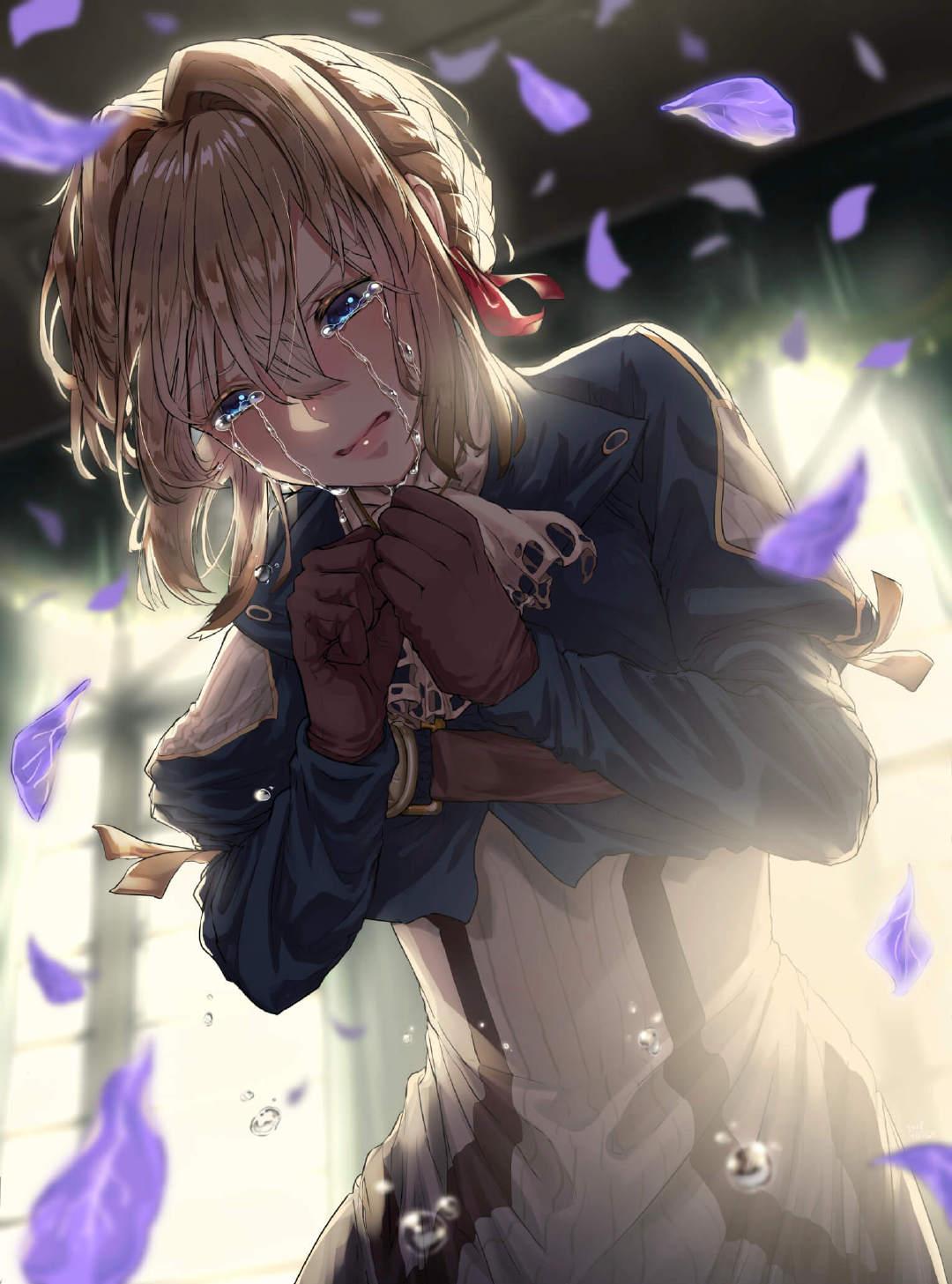 【喵咔动漫】-【P站美图】哭泣的少女特辑