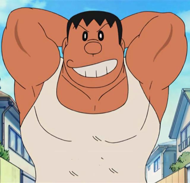 胖虎竟是哆啦A梦中隐藏的男神,身为小学生的他都1米81了