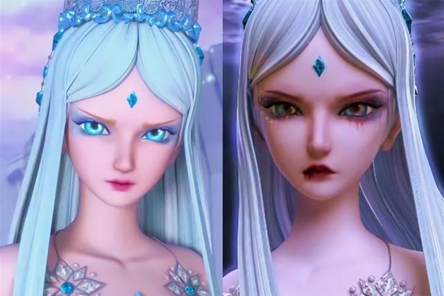 开启吸血鬼特效的叶罗丽仙子们,莫纱美若天仙,灵公主超可爱