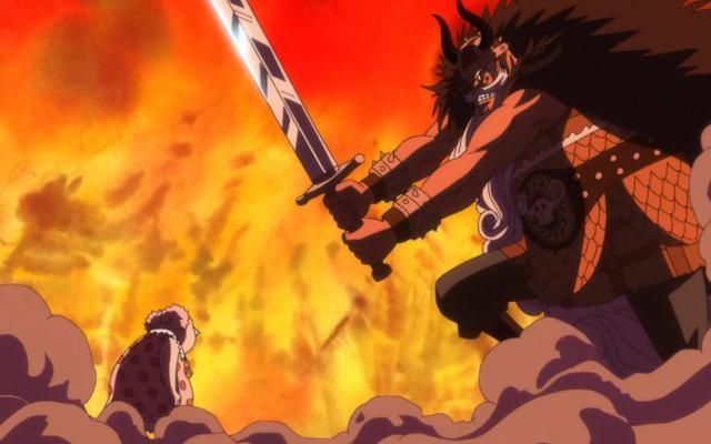 海贼王:尾田钦定的两个怪物,大妈5岁毁灭巨人国,凯多或许更猛
