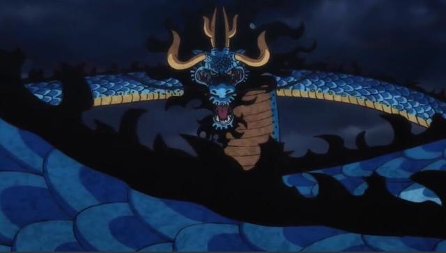 海贼王:凯多一招秒草帽团,对比海军大将大招,龙息什么水平?