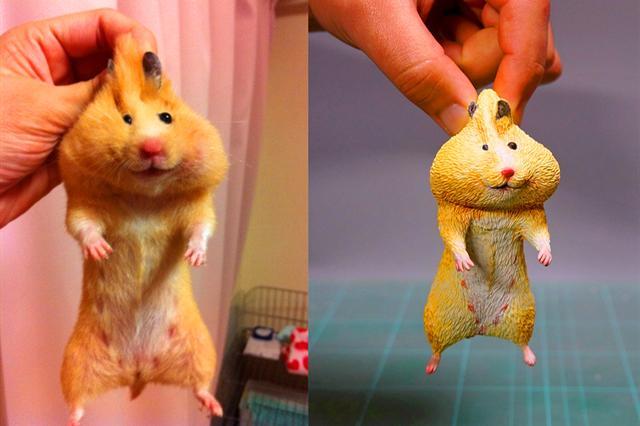 那个以宠物原型制作手办的日本大神,你们知道他最近又做了什么吗