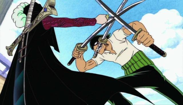 """动漫虾扯蛋:鹰眼最惧怕""""两个人"""",只因当初砍了索隆那一刀"""