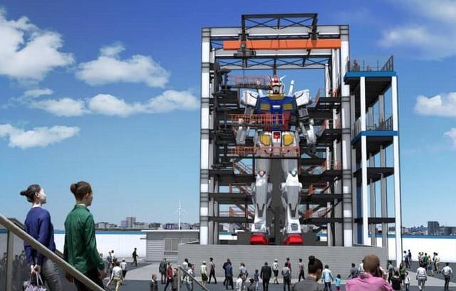 这是世界最大手办?1:1还原初代高达,重25吨还能动