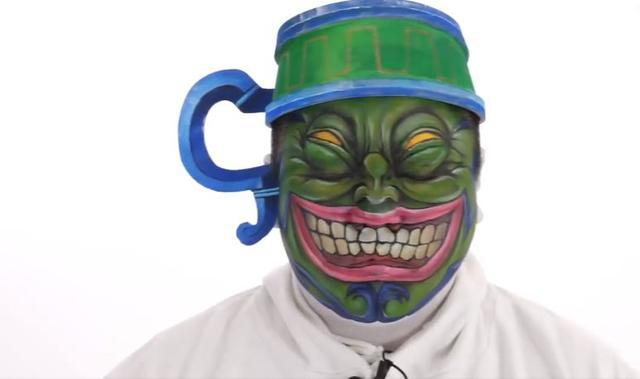 日本特效化妆师推出新作《强欲之壶》,开头还能忍住,后面笑死了