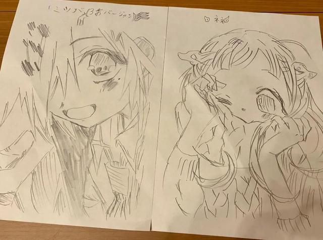 一拳超人作画村田雄介,10岁女儿开始画漫画,长大有望继承父业