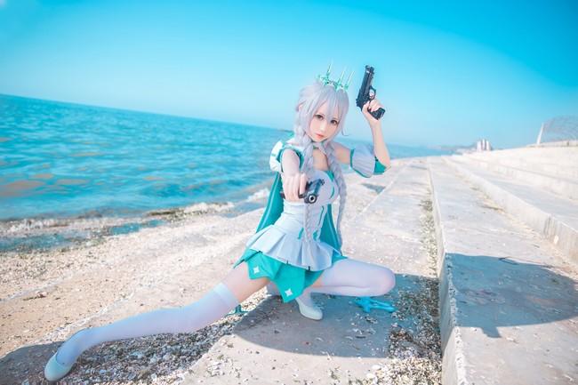 【cosplay】琪亚娜·卡斯兰娜 冬之公主皮肤