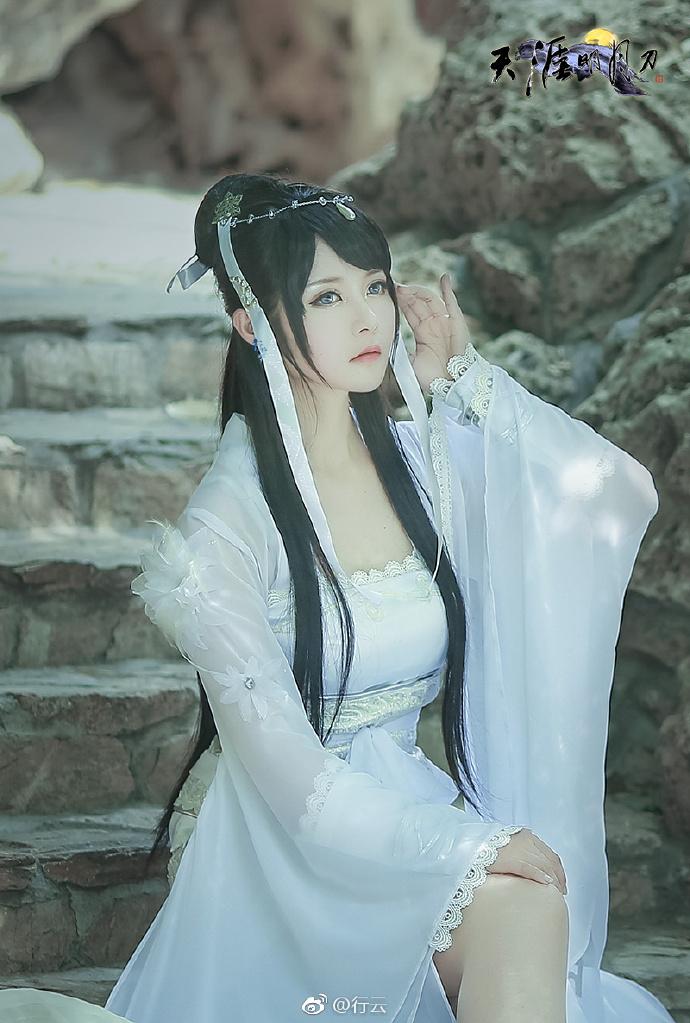 【cos正片】天涯明月刀OL---素问·太白-cos欣赏 cn:行云 cosplay-第1张