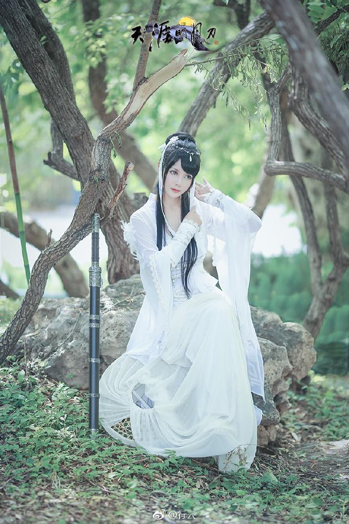 【cos正片】天涯明月刀OL---素问·太白-cos欣赏 cn:行云 cosplay-第2张