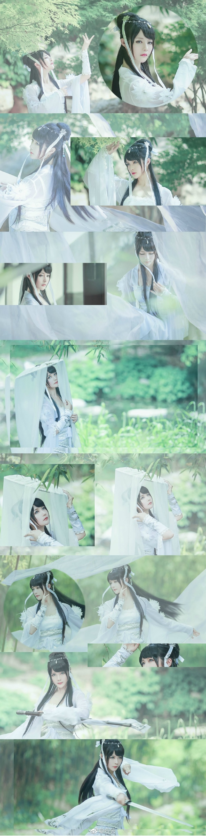 【cos正片】天涯明月刀OL---素问·太白-cos欣赏 cn:行云 cosplay-第4张