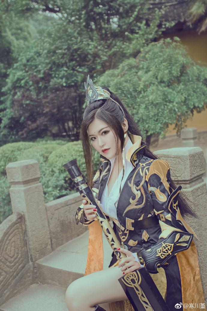 【cos正片】一叶霜溪冷《剑网三》二小姐cosplay欣赏