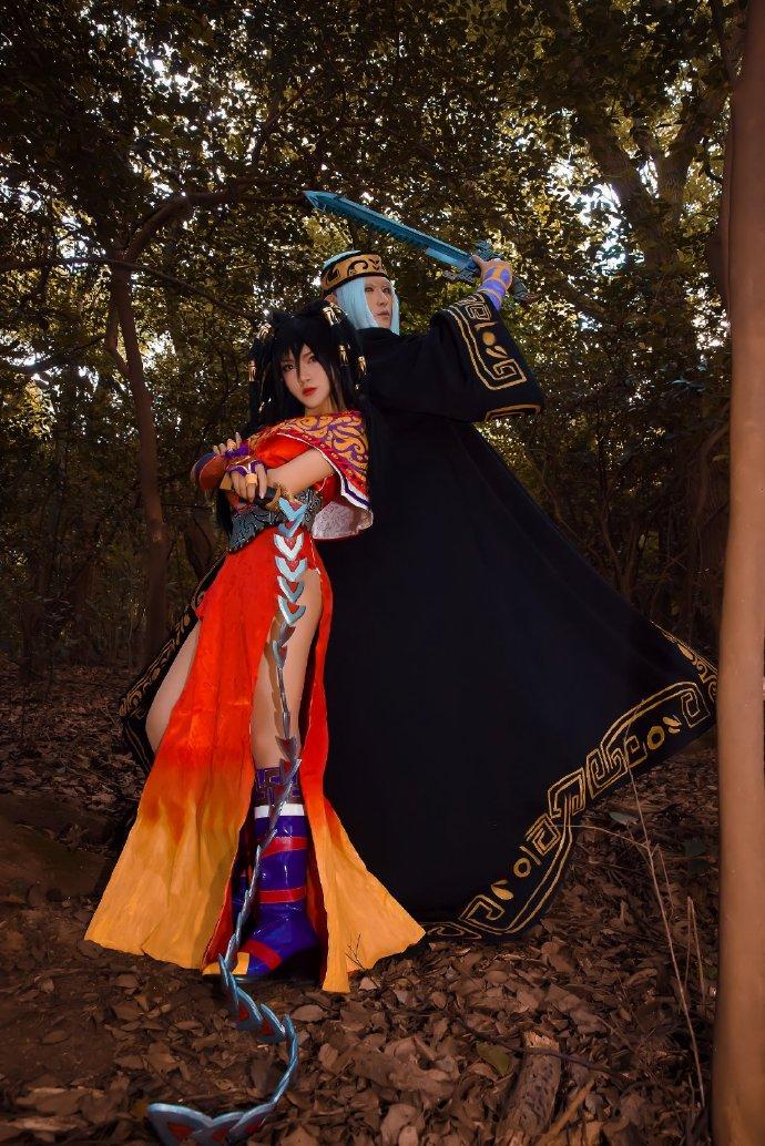 【cos正片】《秦时明月》赤练x卫庄 cosplay欣赏