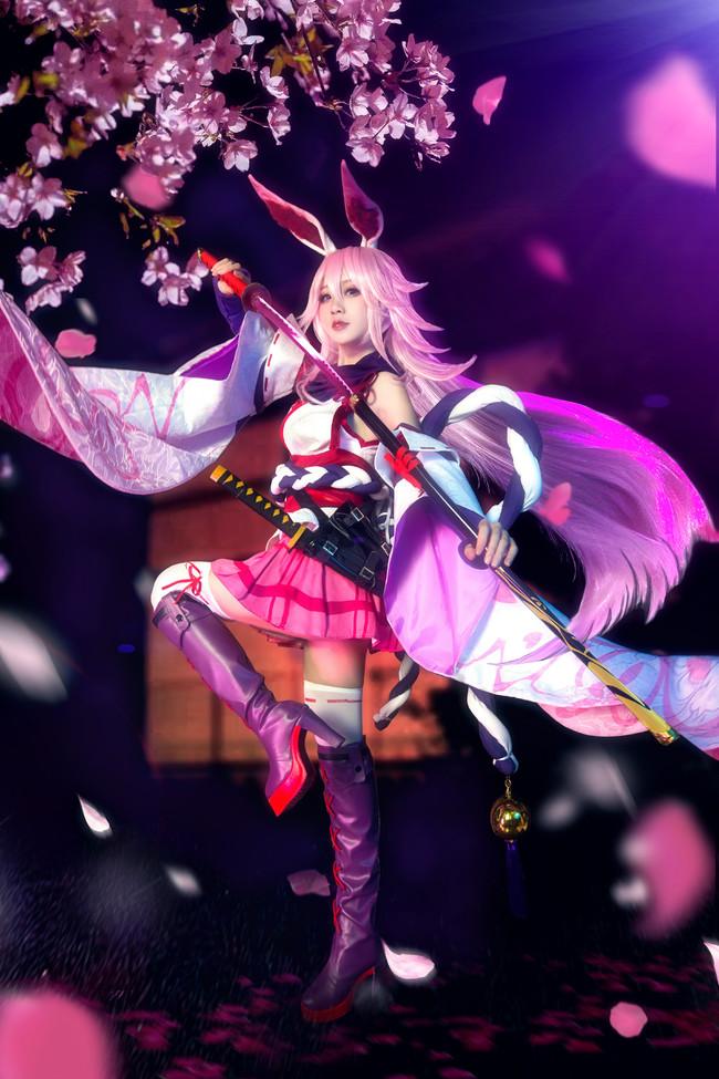 【cosplay】【崩坏学园】八重樱-逆神巫女