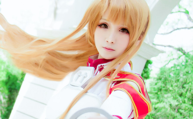【cosplay】刀剑神域=====亚丝娜战斗服ver.