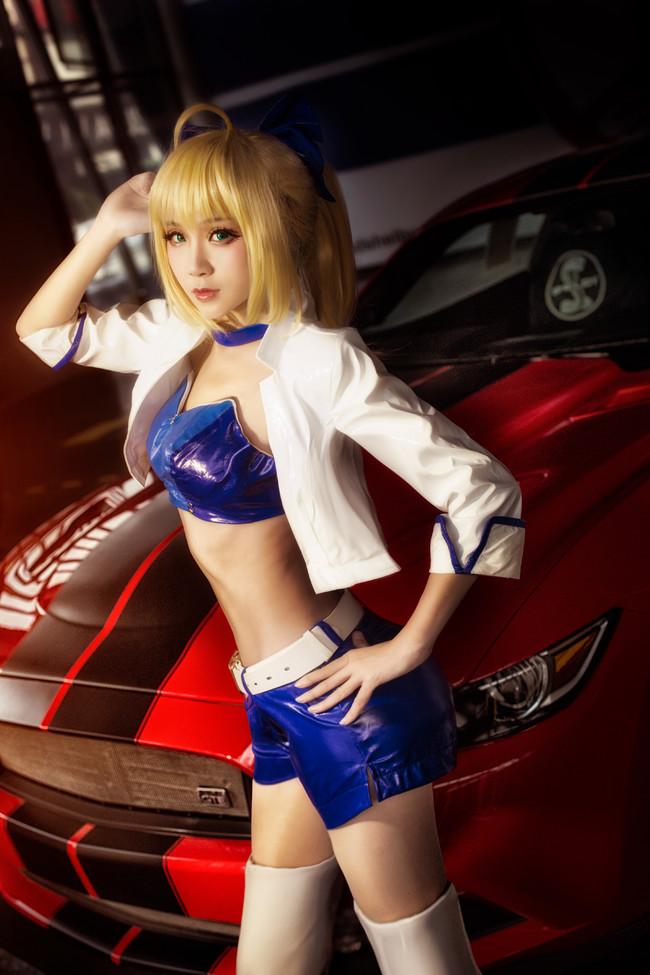 【cosplay】赛车服Saber Type– Moon Racing.Ver