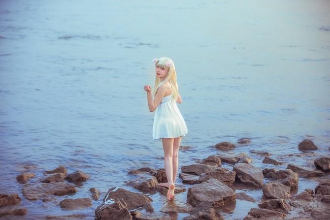 【cosplay】伊莉雅 白裙 正片