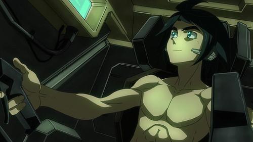 《机动战士高达铁血孤儿》男主角半裸开机遭批判