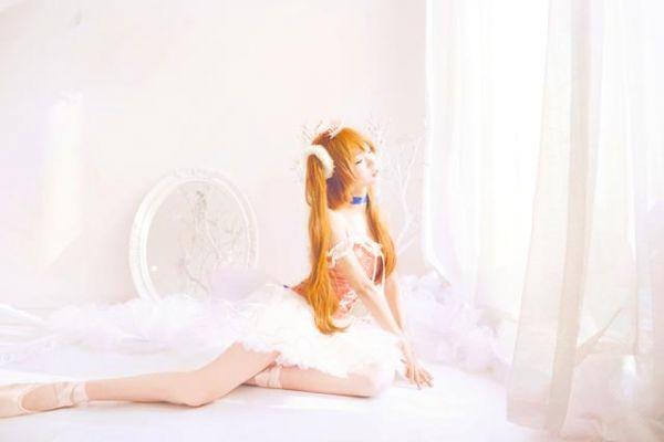 EVA 明日香芭蕾ver.cos正片