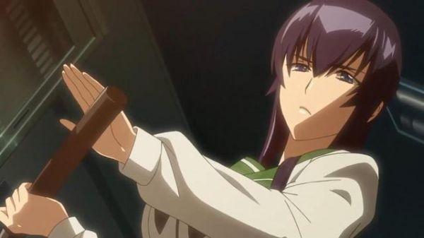 在后宫动漫中的剑道美少女