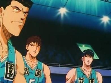 灌篮高手中神奈川各球队眼中其他球队什么样?三浦台的好霸气!